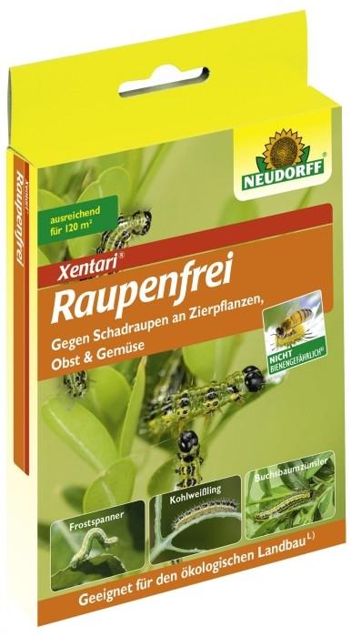 Raupenfrei XenTari Neudorff 2 x 3 g Packung