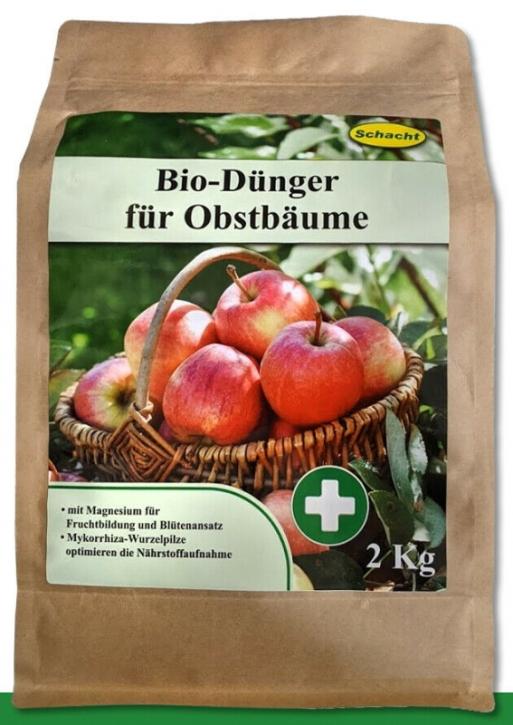 Bio Dünger für Obstbäume organisch 2 kg Schacht