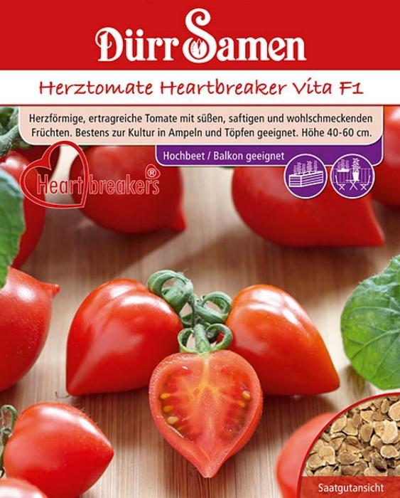 Tomaten Herztomate Heartbreaker Vita