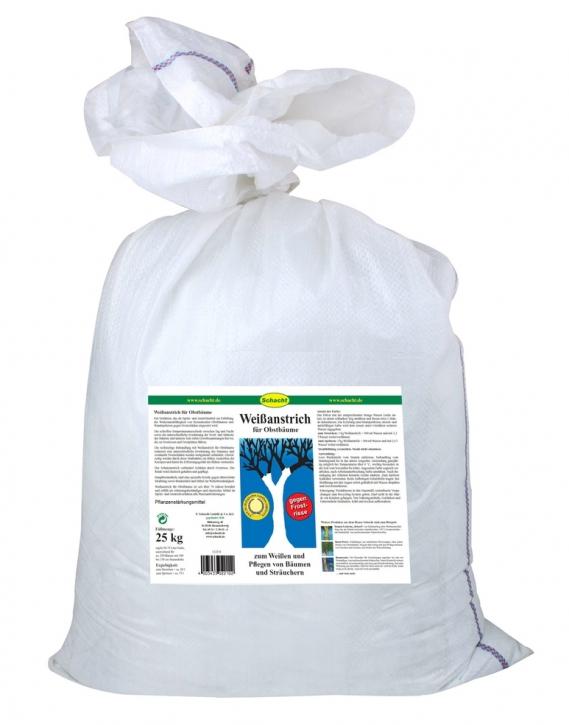 Weißanstrich für Obstbäume Frostrisse Frostschäden 25 kg