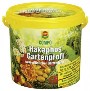 Hakaphos Gartenprofi Volldünger Universaldünger 5 kg