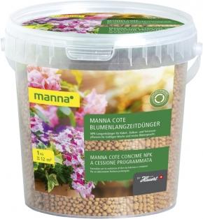Blumen Langzeitdünger Manna Cote Depot Perls 1 kg