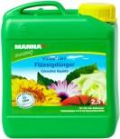 Blumendünger Flüssigdünger F Manna Lin F 2,5 Liter