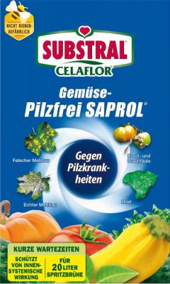 Gemüse Pilzfrei Saprol Celaflor 4 x 4 ml