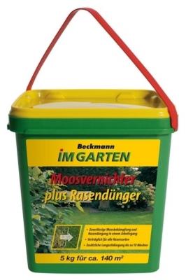 5 kg Rasen Dünger mit Moosvernichter für ca. 140 m²