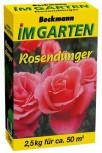 Rosen Dünger Organisch-min. 2,5 kg für ca. 50 m²