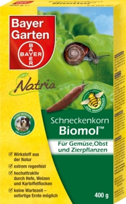 Schneckenkorn Biomol 400 g Schnecken Bekämpfung