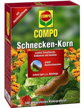 Schneckenkorn Schneckenbekämpfung Compo 300 g