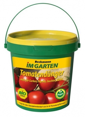 Tomaten Dünger Bio Beckmann 1 kg Eimer