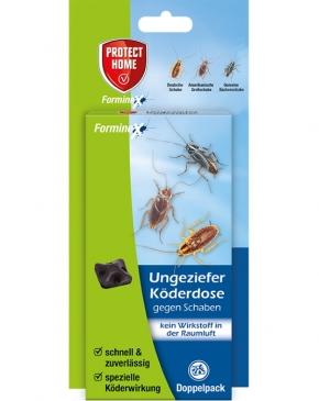 Ungeziefer Köderdose Protect Home Forminex Doppelpack