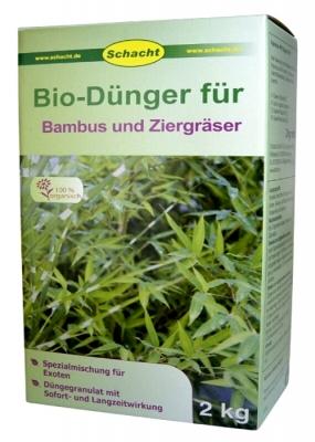 Bio Dünger für Bambus und Ziergräser Schacht 2 kg