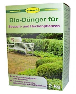 Bio Dünger für Strauch Heckenpflanzen 2 kg