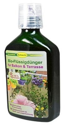 Bio Flüssigdünger für Balkon Terrasse