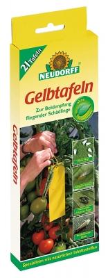 Gelbtafeln Neudorff Insektizidfrei kleinformatig 21 Stück