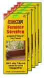 Fliegen Fenster Streifen Insectex 5er Sparpaket