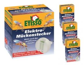 Etisso Elektro Mückenstecker Sparset 1+ 3