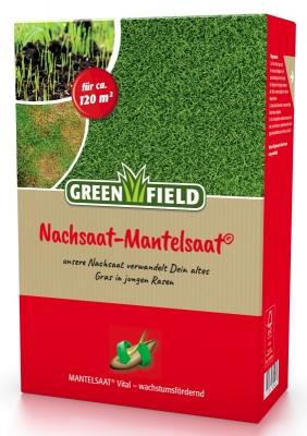 Rasen Nachsaat Reparatur Mischung 2 kg für ca. 120 m²