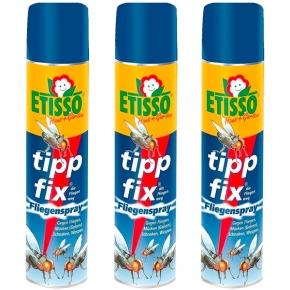 Etisso tipp fix Fliegenspray Sparpack 3 x 400 ml