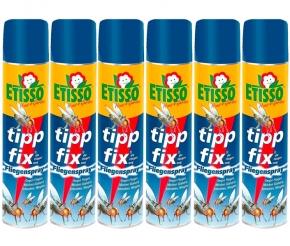 Etisso tipp fix Fliegenspray Sparpack 6 x 400 ml