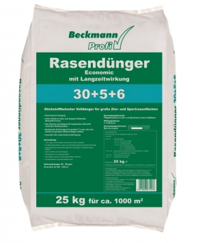 Rasen Dünger Economic Beckmann Profi 25 kg für ca. 1000 m²