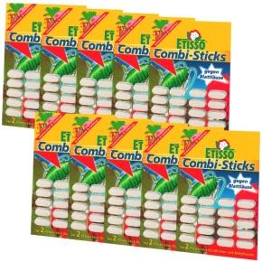Etisso Combi Sticks Sparpack Dünger + Bekämpfung 200 Stück