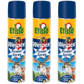 Wespen Powerspray Wespex Etisso Sparset 3 x 600 ml