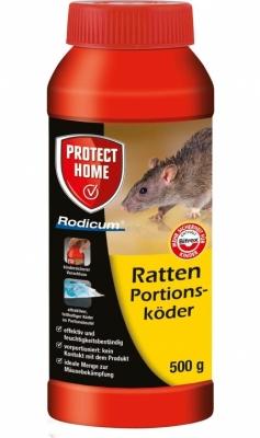 Ratten Portionsköder Rodicum Protect Home 500 g