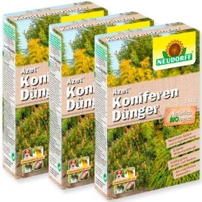 Koniferen Dünger Azet Neudorff 3 x 2,5 kg Sparpack