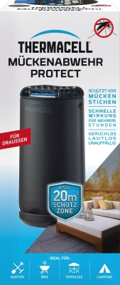 Thermacell Mückenabwehr Protect Tischgerät graphit